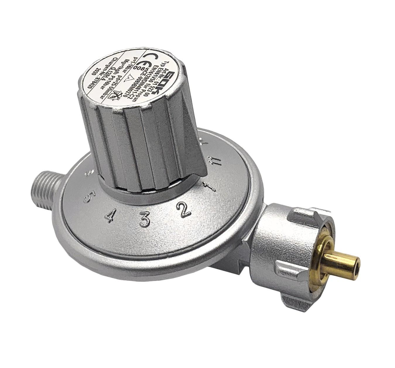 Регулятор давления газа GOK 1кг/час 25-50мбар KLFxG1/4LH-KN 11
